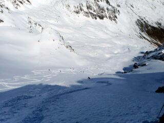 vallone dei Dossi oggi in super neve