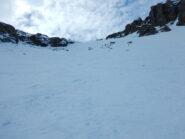 bella neve nel colle
