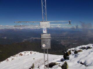 la cima centrale della Bisalta  e il versante bovesano