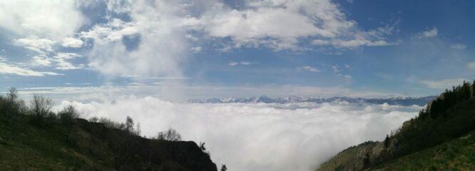 Mare di nubi basse