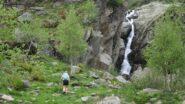 Prima parte del sentiero verso punta Rama