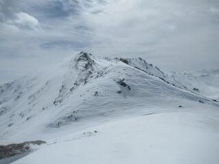 Cima alpinistica del Gran Miol - quota 2.995 m.