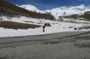 per ora con gli sci fino al parcheggio