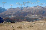 In discesa verso Alp Languard.