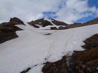Lingua di neve dai 2300m