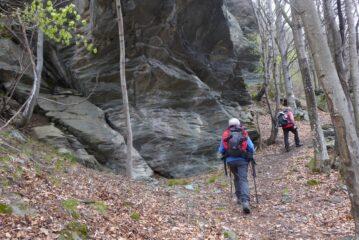 Alla palestra di roccia