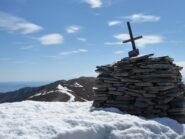 laggiù la Bocciarda, dalla cima della Courbasiri