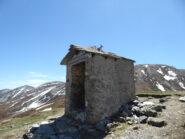 dalla cappelletta al Col della Roussa a destra la Courbasiri e a sinistra la Bocciarda