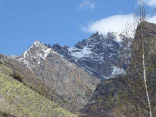 Panorama verso il Vallone di Piantonetto dal punto più alto.