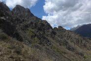 Il versante nord delle Lunelle