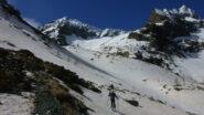 Verso il vallone superiore Alpette
