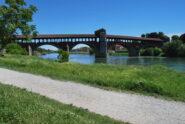 E finalmente il ponte coperto ….