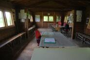 """L'interno dell'osservatorio della Palude, ben curato grazie ai """"Rangers"""" guardiaparco."""