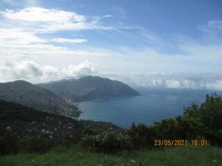 Vista su Golfo Paradiso
