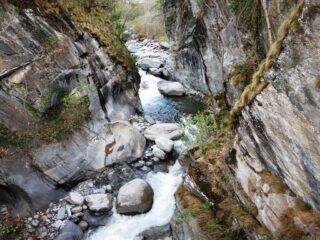 Gola del Torrente Soana presso Ronco.