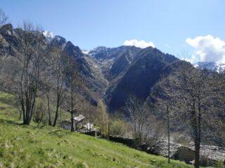 Tiglietto e vallone della Canaussa.