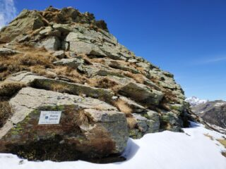 Ultimi metri della cresta.