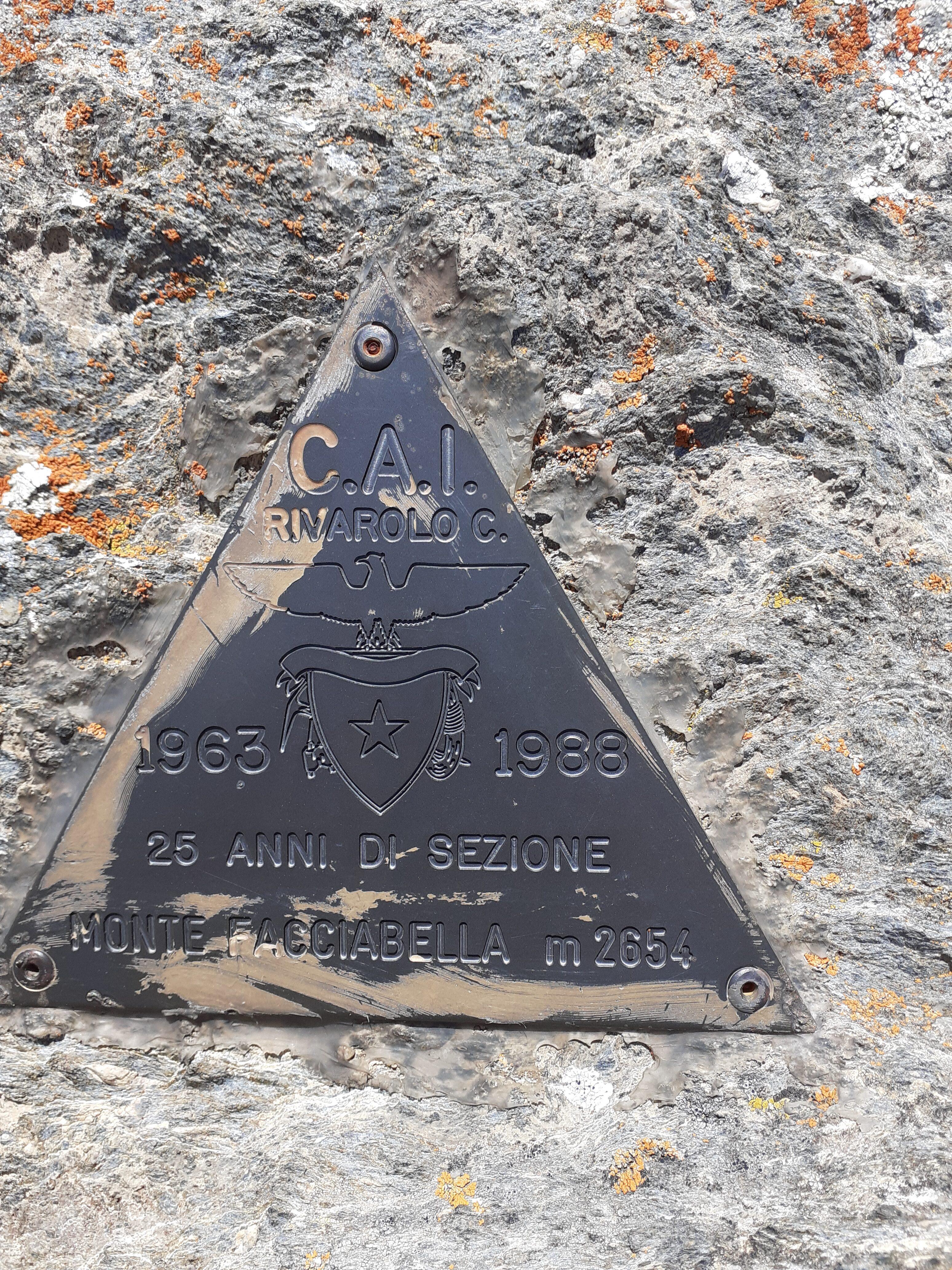 Immancabile sulle vette del Canavese