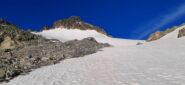 Appena sotto al colle Mont Gelè