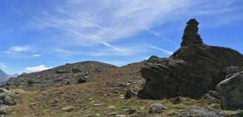Ometto con la Punta delle Cialme a sinistra