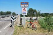 Finalmente il ponte a Ghislarengo …….