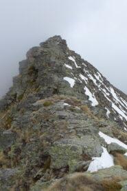 Condizioni cresta rocciosa