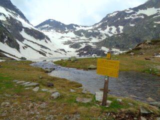 Lago della Valscura Inferiore