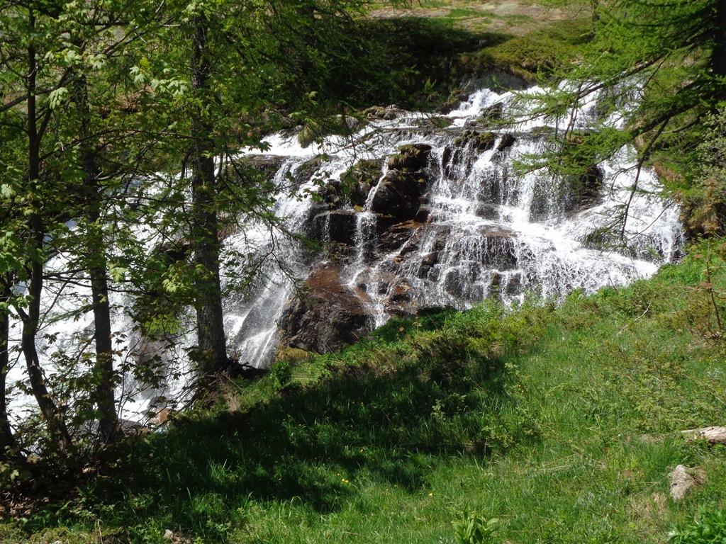 Tante belle cascate sul percorso