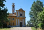 La Chiesa S. Pietro-Paolo alla Cascina Moriano, a pochi minuti da Bereguardo appena prima di salire sulla SP130