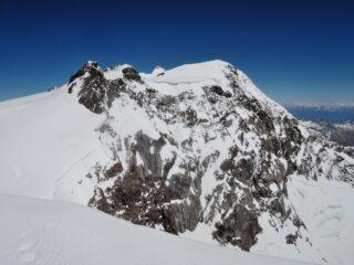 Corno Nero, Dufour, Ludwigshöhe, Zumstein e Parrot viste dalla cima