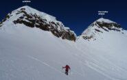 Scesi dal P.zo Scalino, sul traverso per Cima di Val Fontana.