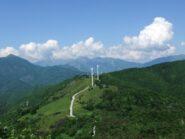 Panorama dalla vetta del Monte Lingo