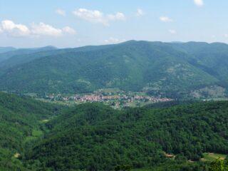 Bardineto dalla cima del Monte Lingo