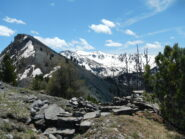 il Monte Corbioun e la Cima Dormillouse visti dal Petit Cric