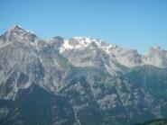 dalla cima: panorama dal Monte Chaberton alla Punta Clotesse