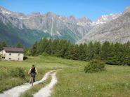 Verso l'alpe Serri
