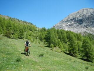 sulla destra il Monte Furgon