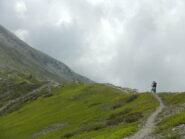 bel tratto di sentiero ciclabile