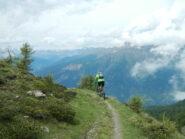 sentiero panoramico sul versante valsusino