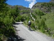 sul percorso una serie di cascate spettacolari