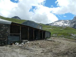 bergeria del Gran Miol 2440 m. e Gran Queyron sullo sfondo