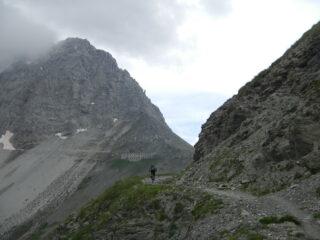 in vista del Passo della Mulattiera