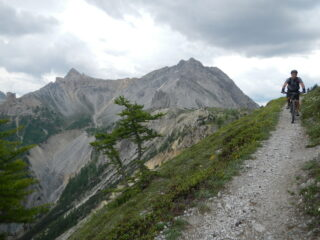verso il sentiero che scende sul Colle della Scala