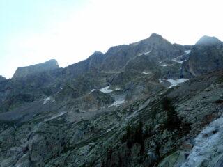 la skyline del vallone Argentera