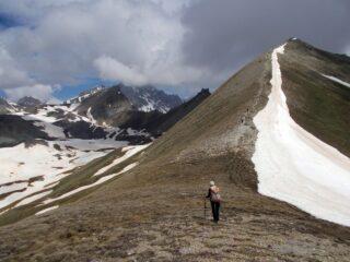 la cresta dal Colle Aguya