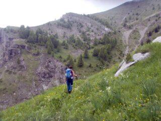 sul sentiero verso Moriglione