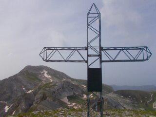 la croce di vetta e il Mongioie