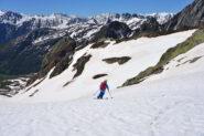 Discesa dalla Fenetre d'en Haut verso Montagna Baus