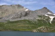 M.Pierassin e Punta di Roburent dal Lago sup. di Roburent