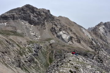 Il monte Scaletta dalla Punta di Roburent